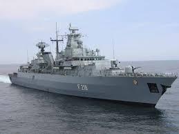 German frigate Mecklenburg-Vorpommern