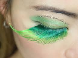 halloween false eyelashes blog
