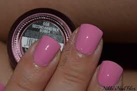 nikki u0027s nail files swatch second hand silk