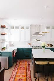 green kitchen cabinets 40 colorful kitchen cabinets to add a