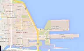 North Shore Chicago Map by Streeterville Dwell One Realty