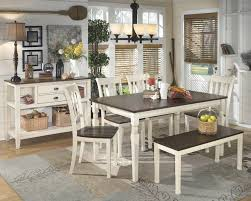 whitesburg table 4 side chairs bench d583 00 02 4 25 whitesburg table 4 side chairs bench