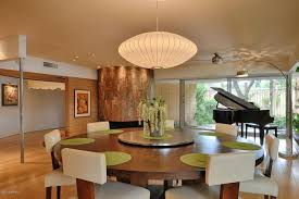 Dining Room Ceiling Fan by Contemporary Dining Room With Hardwood Floors U0026 Ceiling Fan In
