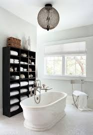 bathroom storage ideas pinterest recrtangle shape metal bath sink
