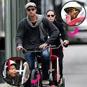 Hollywood Bike Patrol: Brad Pitt, Angelina Jolie, and Family ...