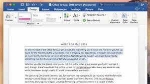Home Design Suite 2016 Review Review Microsoft Office 2016 For Mac Office Suite Pc U0026 Tech