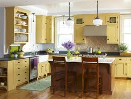 Kitchen Cabinet Colour Lift The Mood With Yellow Kitchen Cabinets My Home Design Journey