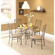 Dining Room Sets With Round Tables Glass Dining Room Table Set For Home Furniture Ideas Home