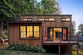 small modern cabin floor plans