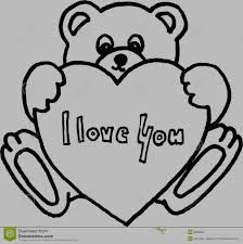 i love you drawings in pencil with heart free download clip art