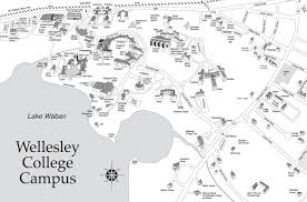Boston Logan Map by Wellesley College Map Boston Pinterest College
