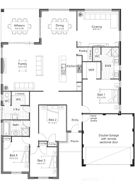 4 bedroom open floor plan trends including plans for single story