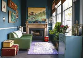house tour a bold and dramatic new orleans house apartment therapy