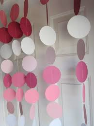Decorative Garlands Home by Paper Garland Decorations Birthday Party Weddings Bridal Shower