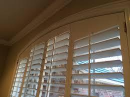 arch windows u0026 plantation shutters kirtz shutters custom