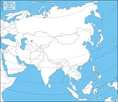 Latitude Map Asia Free Map Free Blank Map Free Outline Map Free Base Map