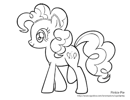 My Little Pony Colouring Pages My Little Pony Pinkie Pie Coloring Pages Chuckbutt Com
