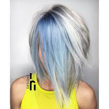 icy blue and blonde bob fun hair pinterest blonde bobs bobs