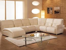 living room elegant white sectional leather living room couches