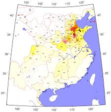 Map Of China Provinces Amazing Han Dynasty Population Map U2013 The History Of China