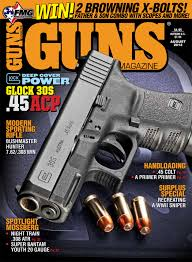 glock 30s 45 redefines u201cpocket power u201d in the august issue of guns