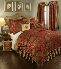 Red King Comforter Sets Austin Horn Classics Red Verona Bedding Collection Room Booms