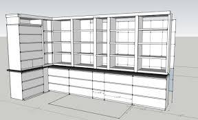 Ikea Bookshelves Built In by Not Built In Ikea Cabinets Ikea Hackers Ikea Hackers