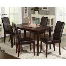 Five Piece Dining Room Sets Monarch Faunsdale 5 Piece Dining Table Set Dining Table Sets At