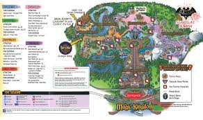 Printable Map Of Disney World Mickey U0027s Not So Scary Halloween Party 2011 All Ears Guest Blog