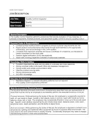 Best Resume Format For Quality Assurance by Qa Qc Inspector Resume Sample Free Resume Example And Writing