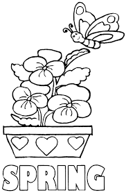printable 40 preschool coloring pages spring 8100 spring color