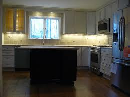 kitchen style modern under cabinet lighting options kitchen