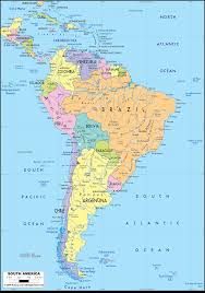 Physical Map Of South America by Detailed Clear Large Map Of South America Ezilon Maps