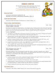 Sample Teacher Assistant Resume by Example Teacher Resume Resume Examples Free Resume Example