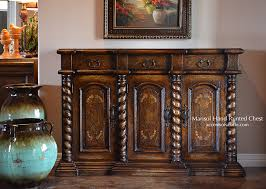 old world hand painted furniture dining room buffet marisol
