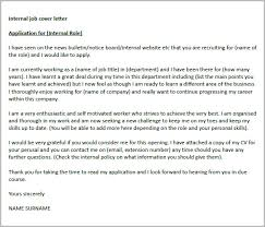 Internal Cover Letter happytom co