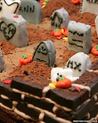 halloween cakes and dessert recipes martha stewart