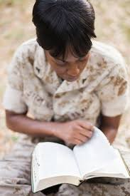 Ex Marine Punished for Bible Verses on Desk Loses Appeals Case  Photo  Wynona Benson Photography Courtesy of First Liberty Institute  Monifa Sterling is reading her Bible in this undated photo