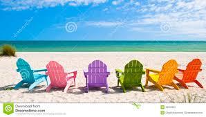 Luxury Beach Chair Adirondack Beach Chairs Stock Photo Image 40950605