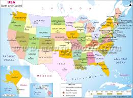 Big Map Of The United States by Musical Links