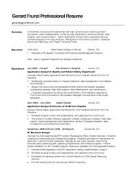 Example Resume  Australian Resume Sample  key professional