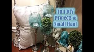 small fall home decor haul u0026 diy projects fall home decor styling