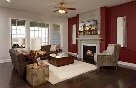 family room with fireplace peacefield floor plan drees homes