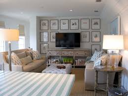 Living Room With Tv by Interior Living Room With Tv Stand And Sofa Also Coastal Lamps
