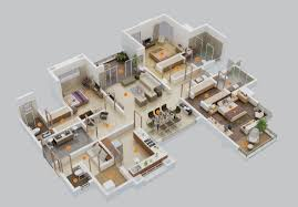 Massive House Plans by 3 Bedroom Apartment House Plans
