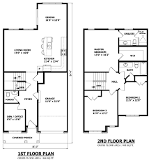 small house floor plans with garage home decorating interior