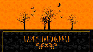 orange halloween hd background happy halloween wallpapers
