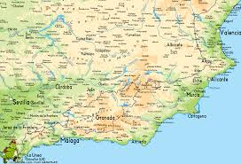 Spain Political Map by Map Of Southern Spain Google Search Places I U0027d Like To Visit