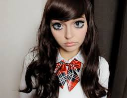 anime makeup japan halloween youtube