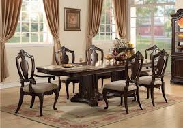 lacks riviera 9 pc dining room set